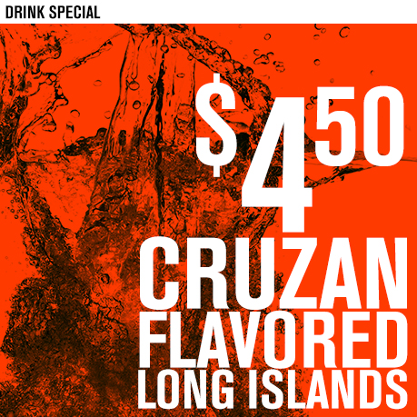 450 Cruzan Long Islands LARGE