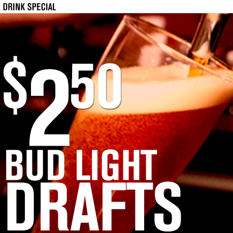 $250 Bud Draft LARGE