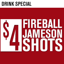 $4 Jamo Fireball Shots