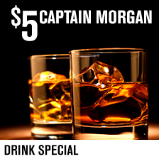5 Captain Morgan
