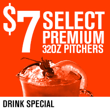 $7 32oz Premium Pitchers
