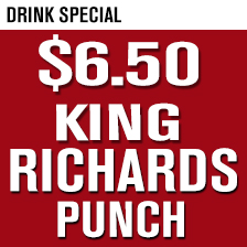 King Richards Punch $6.50